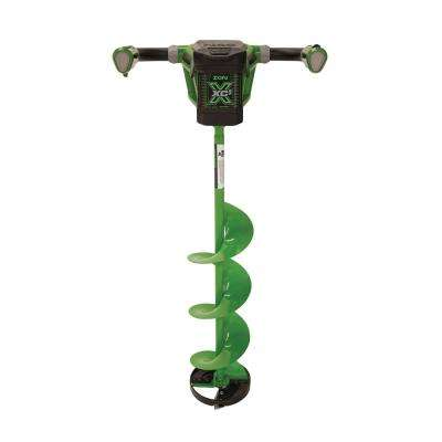 X 8 in. 40-Volt Electric Ice Auger with Reverse