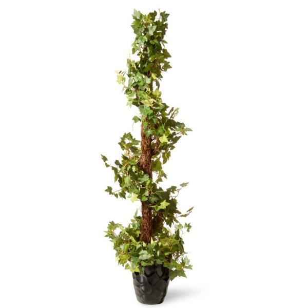 48 in. Ivy Spiral Topiary