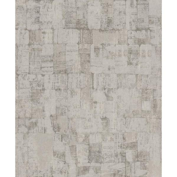Walls Republic Abstract Weathering Wallpaper Warm Grey Paper Strippable Roll Covers 57 Sq Ft R6831 The Home Depot