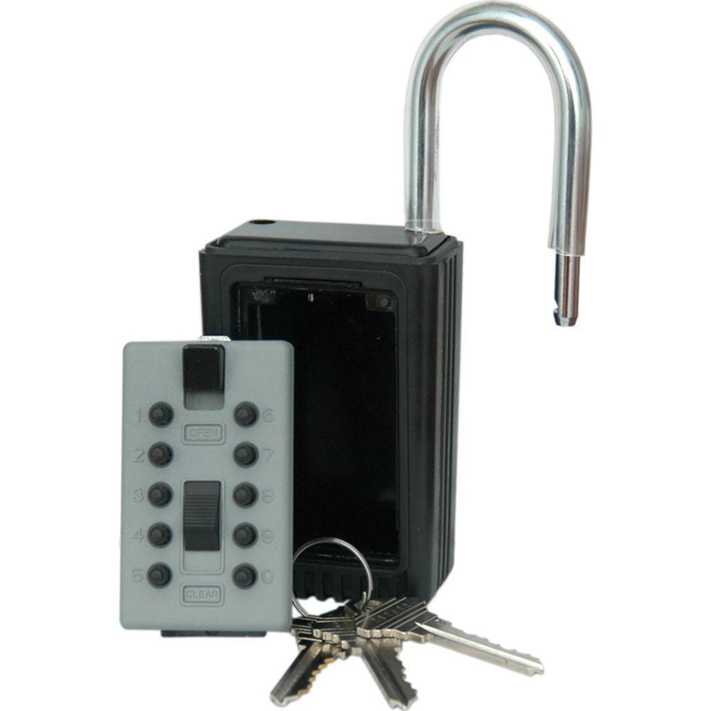 LockState KeyDock 5-Key Door Access Lockbox-DISCONTINUED