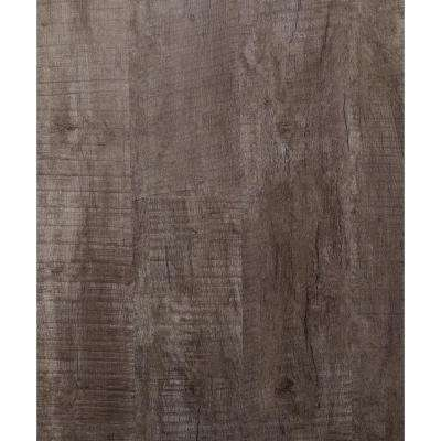 Twilight Gray 5.91 in. x 48 in. HDPC Floating Vinyl Plank Flooring (19.69 sq. ft. per case)