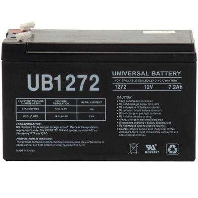 12V  7.2 Ah F1 AGM battery