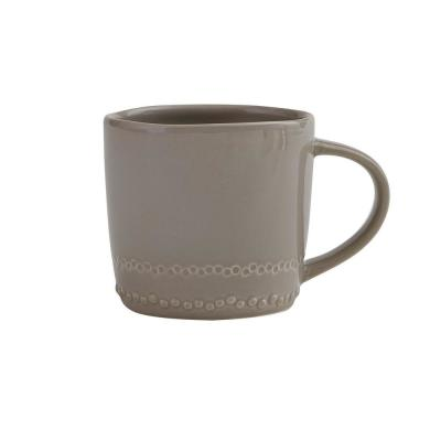 Peyton 8 oz. Stone Ceramic Coffee Mug (Set of 4)