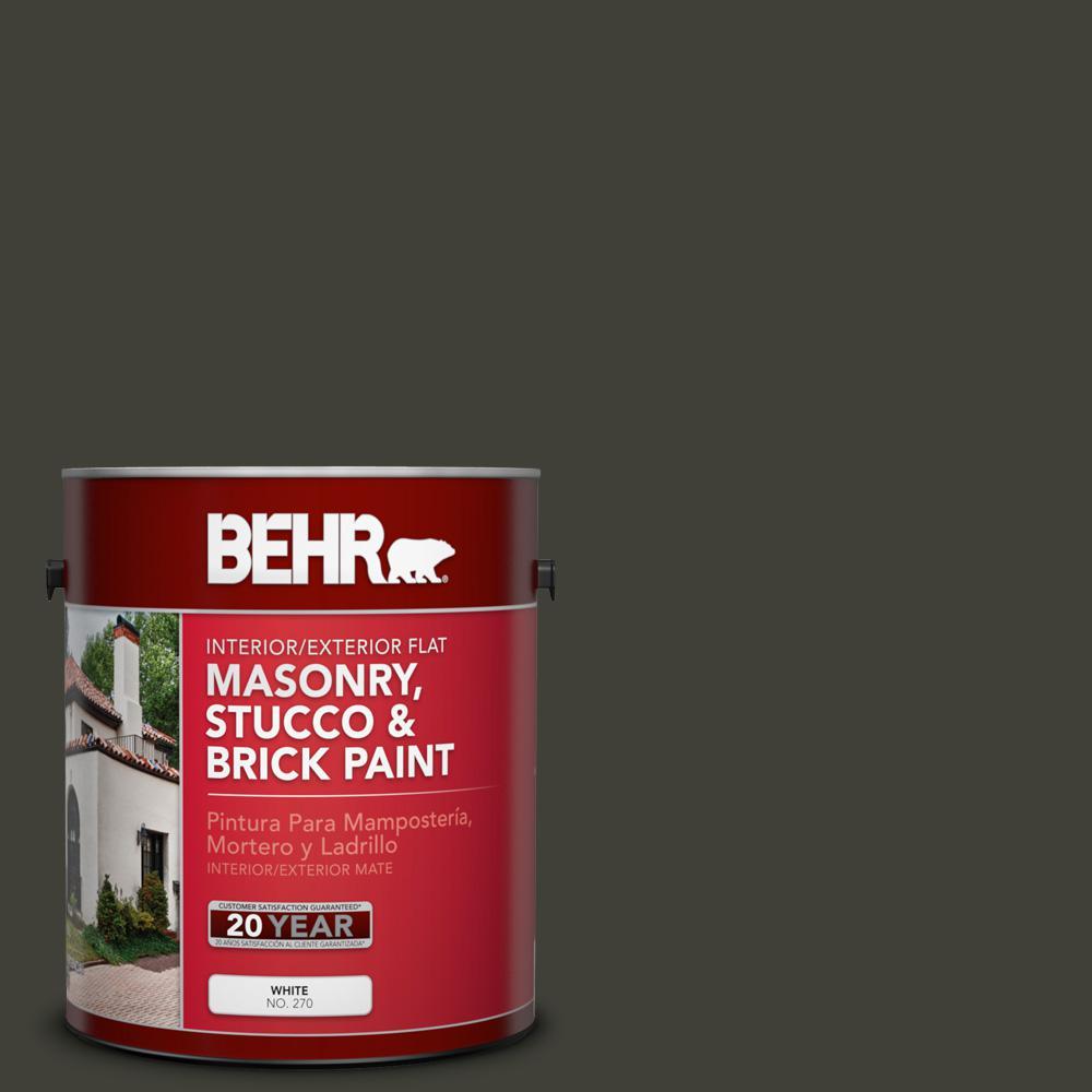 1 gal. #PPU18-20 Broadway Flat Interior/Exterior Masonry, Stucco and Brick Paint