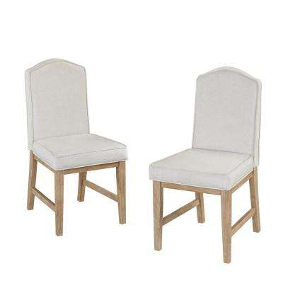 White Wash Side Chair (Set of 2)