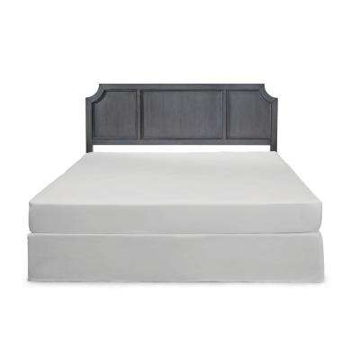 5th Avenue Gray King Panel Headboard