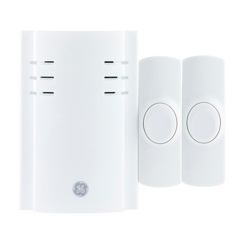 Wireless 8-Melody Wall Outlet Door Chime