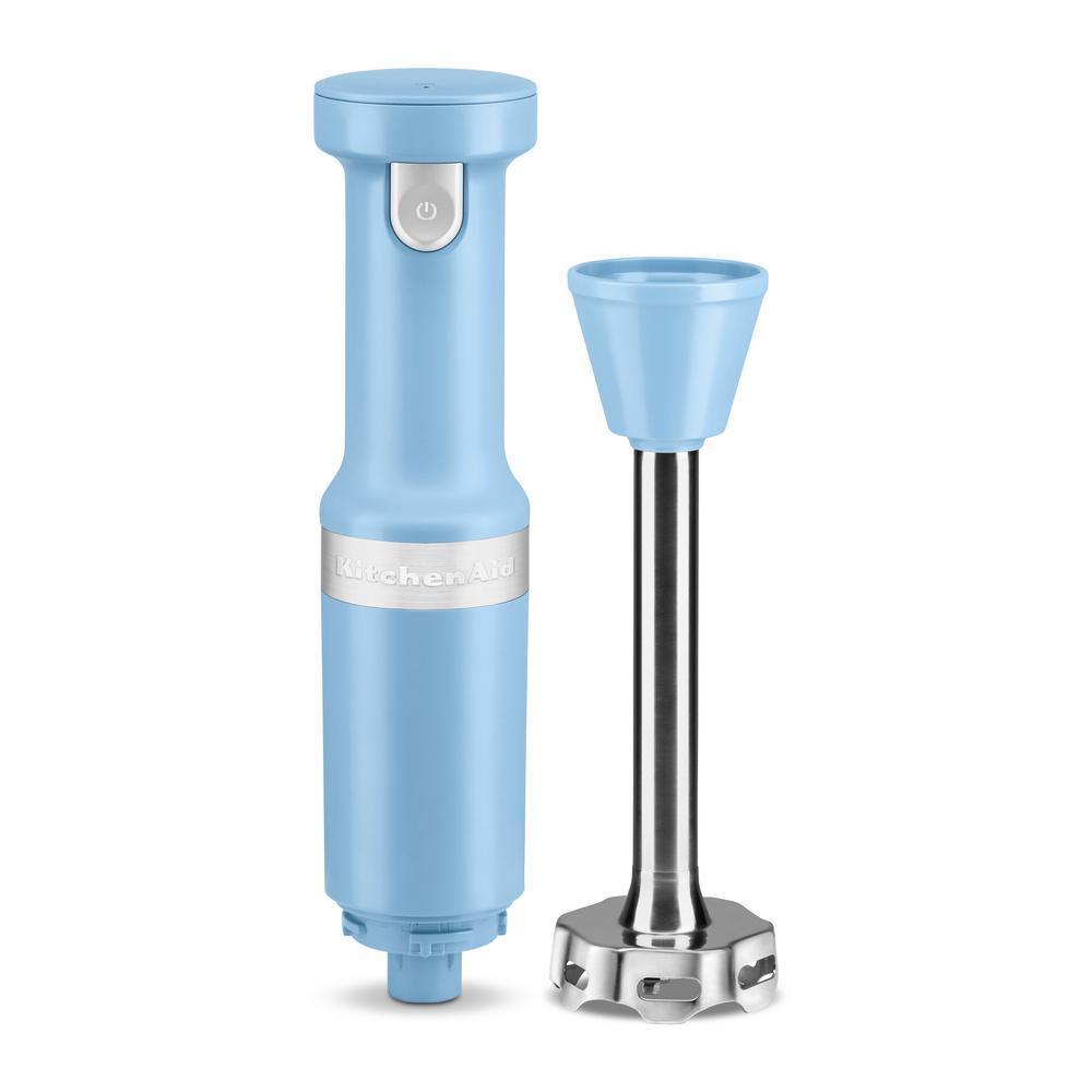 Cordless Variable Speed Blue Velvet Hand Blender