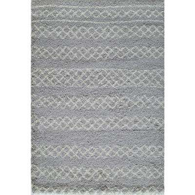 Maya Grey 5 ft. x 8 ft. Indoor Area Rug