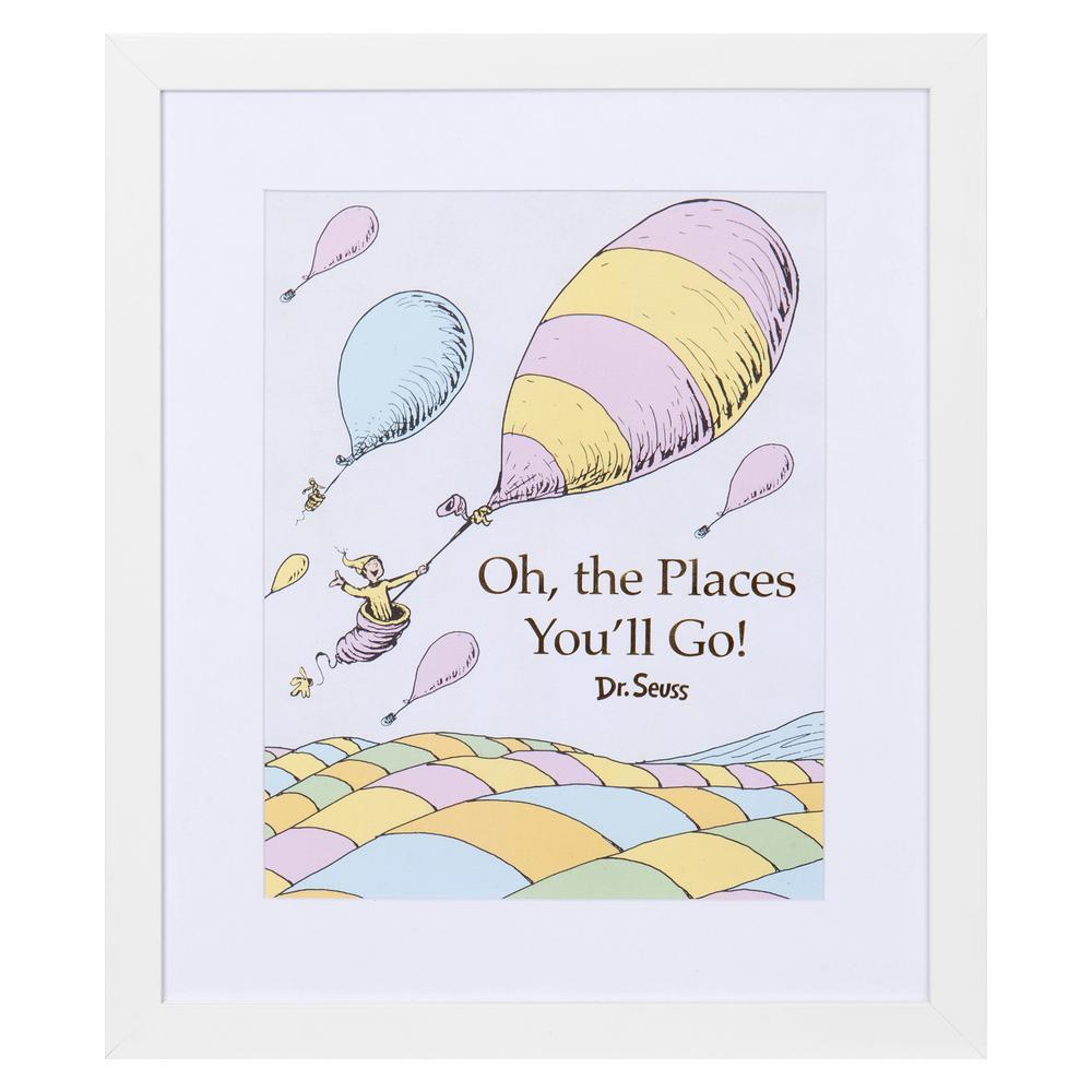 CANVAS Dr Seuss at his Office Art print POSTE