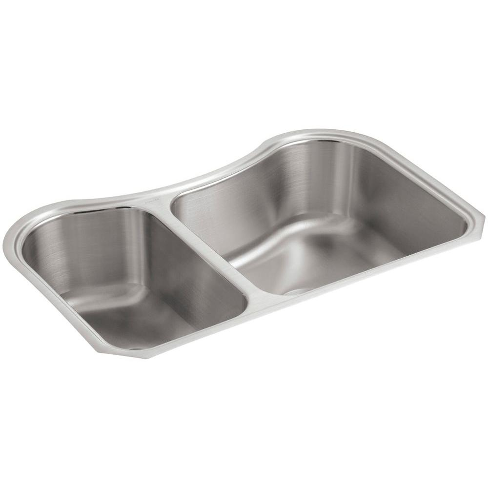 Details about KOHLER Kitchen Sink Double Bowl 8\
