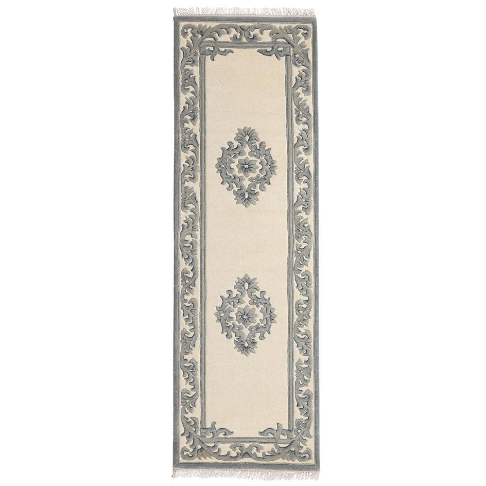 Home Decorators Collection Filigree Aubusson Blue 3 Ft X 8 Ft