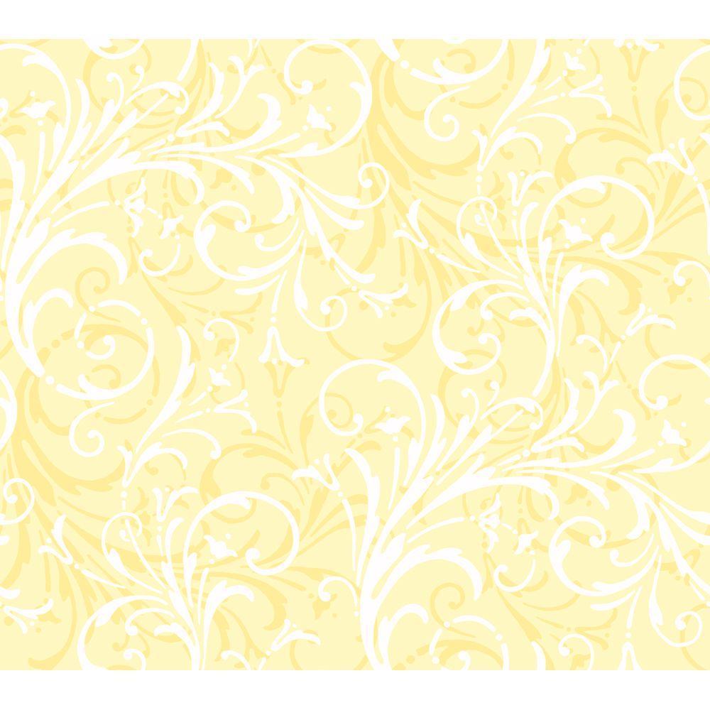 Layered Scroll Wallpaper