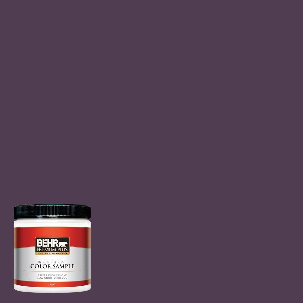 BEHR Premium Plus 8 oz. #S-H-690 Interlude Interior/Exterior Paint Sample