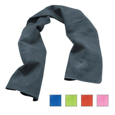 Chill-Its Gray Evaporative Cooling Towel