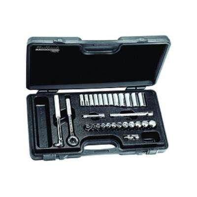 3/8 in. Drive Socket Set (29-Pieces)