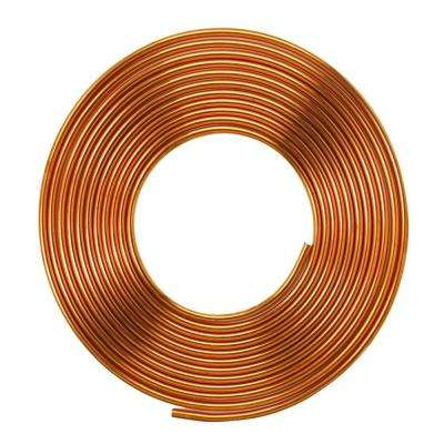 1/2 in. O.D. x 50 ft. Soft Copper Refrigeration Coil Tubing