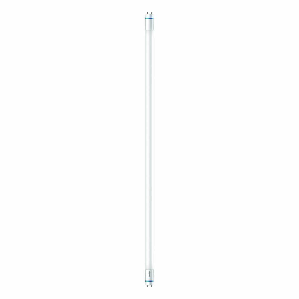 Philips 25-Wattt Equivalent 3 ft. T8 LED Linear Light Bulb Daylight (5000K) (10-Pack)