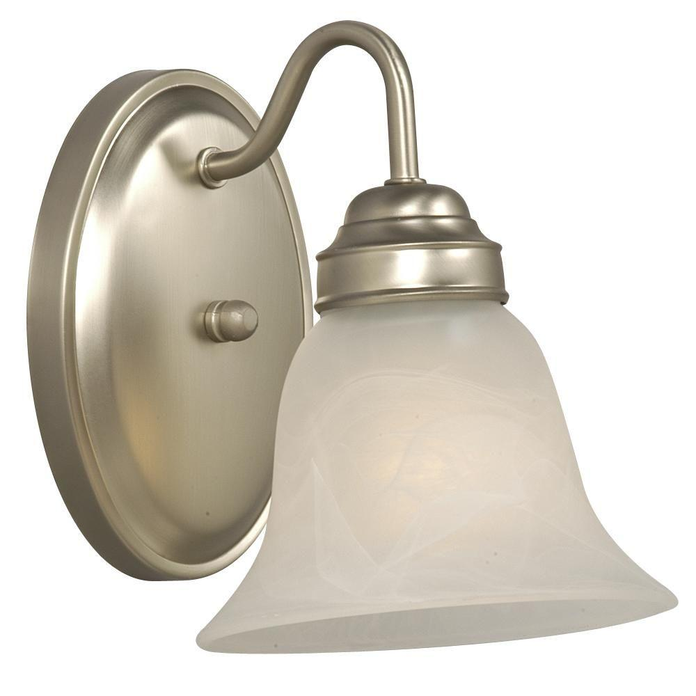 Filament Design Negron 1 Light Pewter Incandescent Sconce CLI XY5194511 The Home Depot