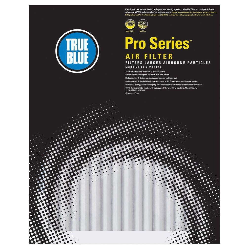 True Blue 16 in. x 25 in. x 4 in. ProBasic FPR 5 Air Filter (3-Pack)