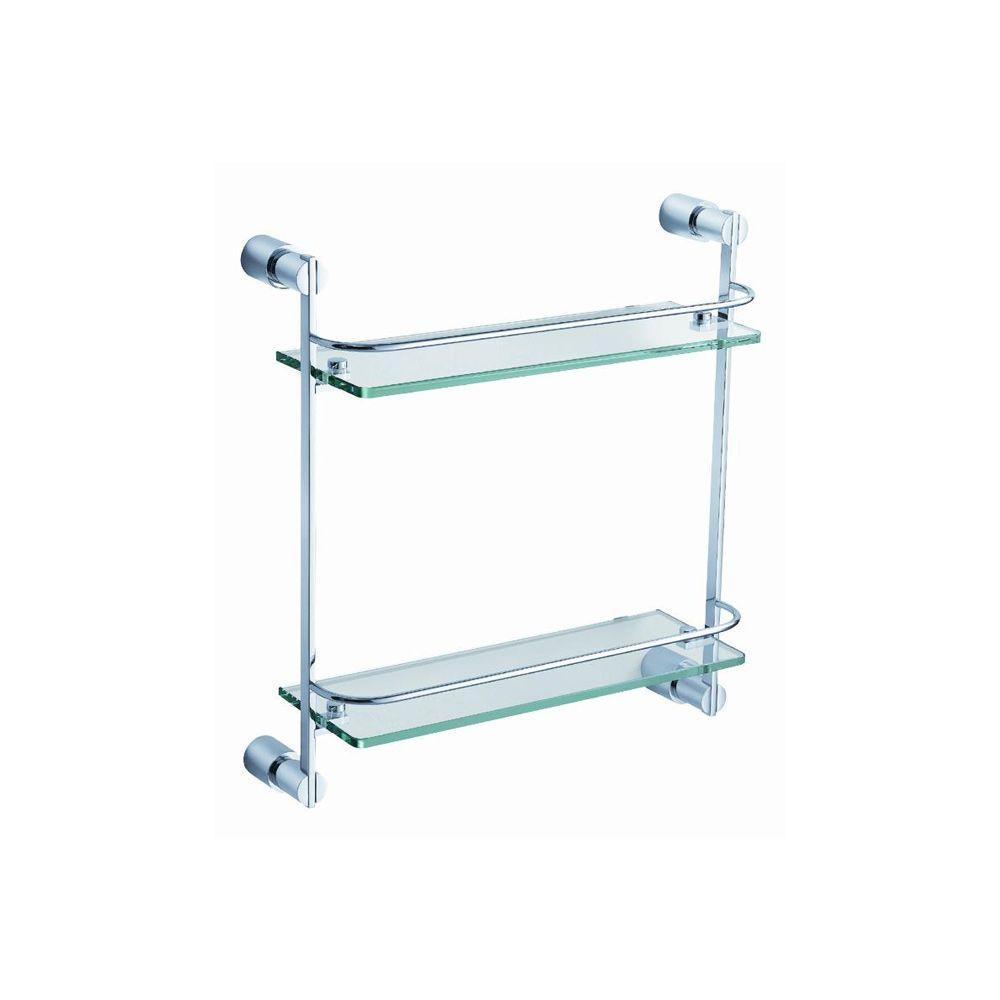 2 Tier Gl Shelf In Chrome Fac0146