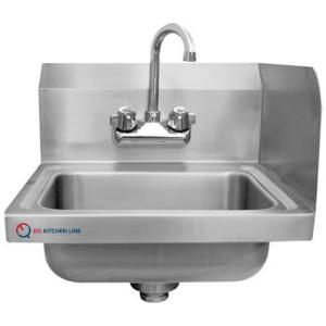 Stainless Steel Commercial Kitchen Sinks Eq kitchen line 17 in x 15 in x 13 in compartment commercial eq kitchen line 17 in x 15 in x 13 in compartment commercial kitchen sink in stainless steel silver xhs 17 rsp 320 db the home depot workwithnaturefo