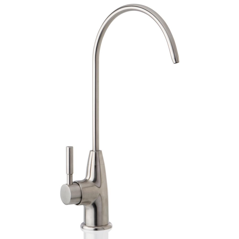Ispring Premium Stainless Steel Single Handle Drinking Water Faucet For Reverse Osmosis Filtration Systems
