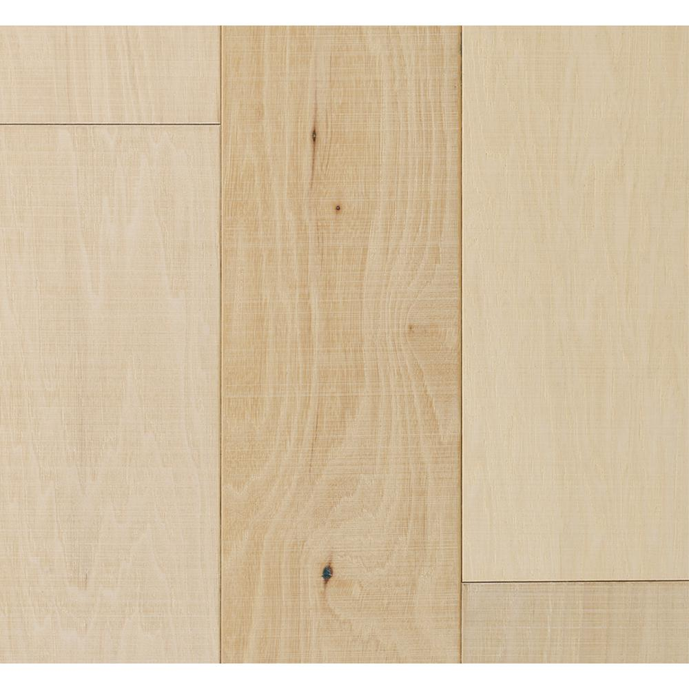 Malibu Wide Plank Hickory Vallejo 3/8 in. T x 6-1/2 in. Wide x Varying Length Engineered Click Hardwood Flooring (945.50 sq. ft. / pallet)