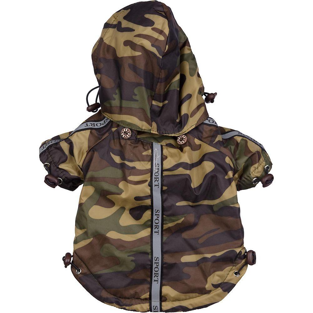 X-Small Camouflage - Reflecta-Sport Rainbreaker