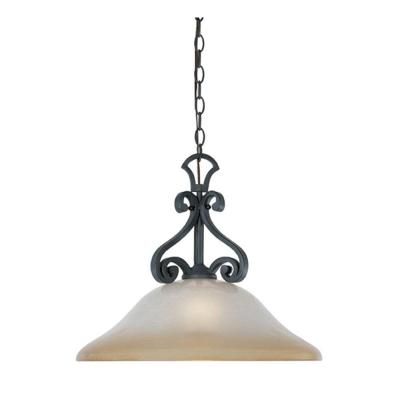 Barcelona 1-Light Natural Iron Hanging Pendant