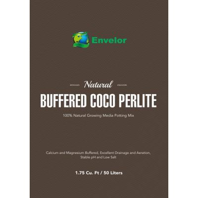 1.75 cu. ft. Brown Fluffed Coco Perlite Potting Soil Mix