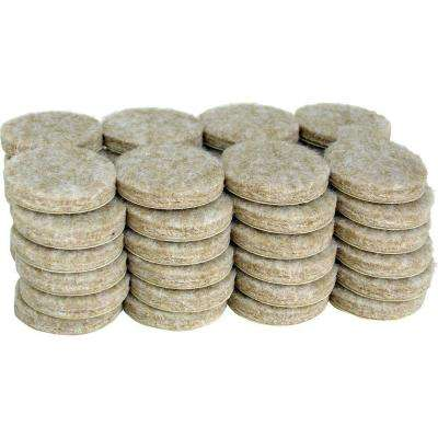 Heavy Duty Self Adhesive Felt Pads (48 Per Pack)