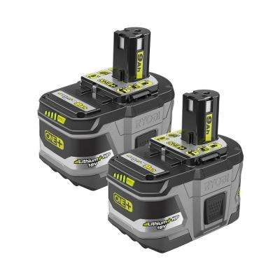 18-Volt ONE+ Lithium-Ion LITHIUM+ HP 9.0 Ah High Capacity Battery (2-Pack)