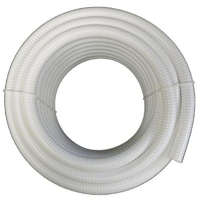 2 in. x 50 ft. White PVC Schedule 40 Flexible Pipe