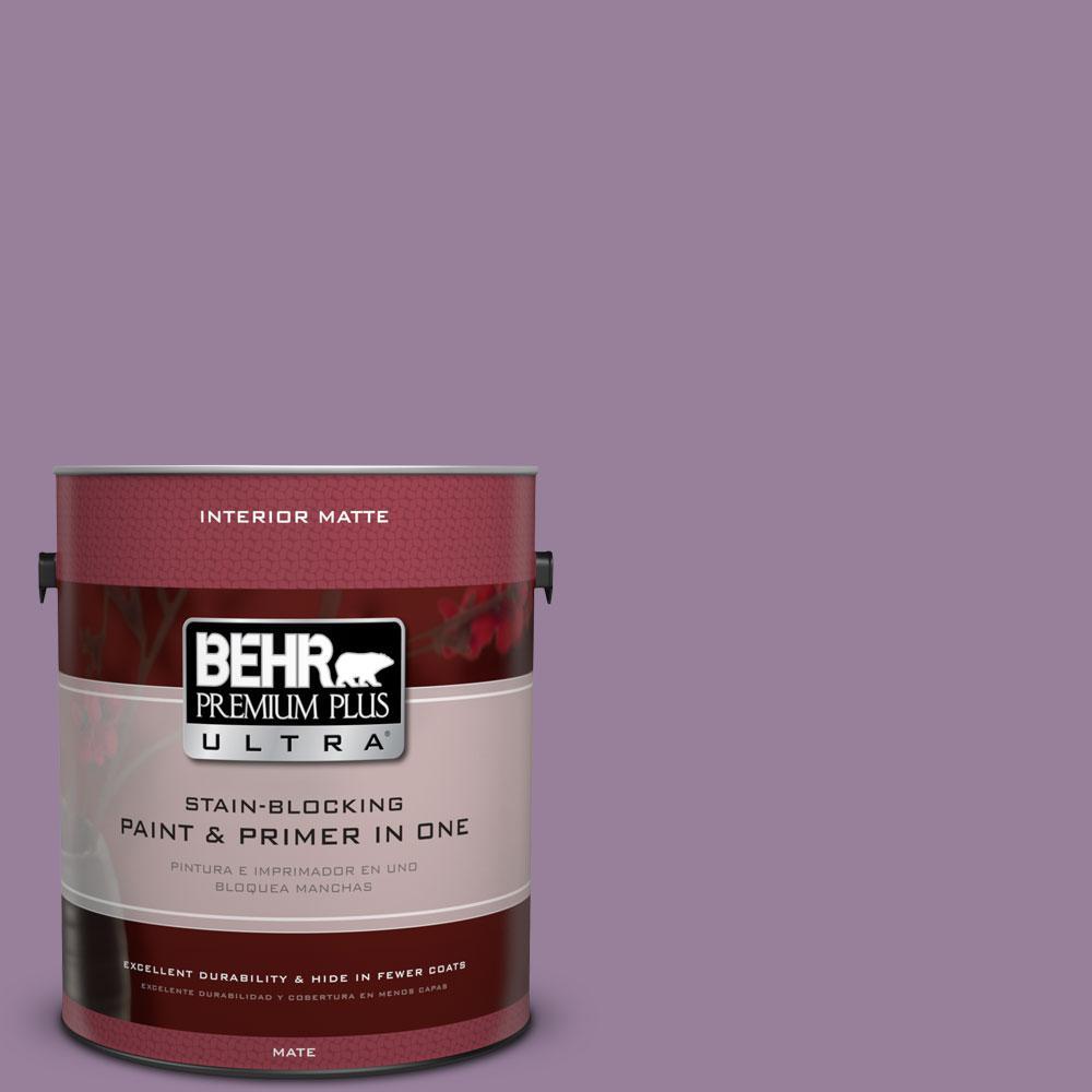 1 gal. #670D-6 Mixed Berries Flat/Matte Interior Paint