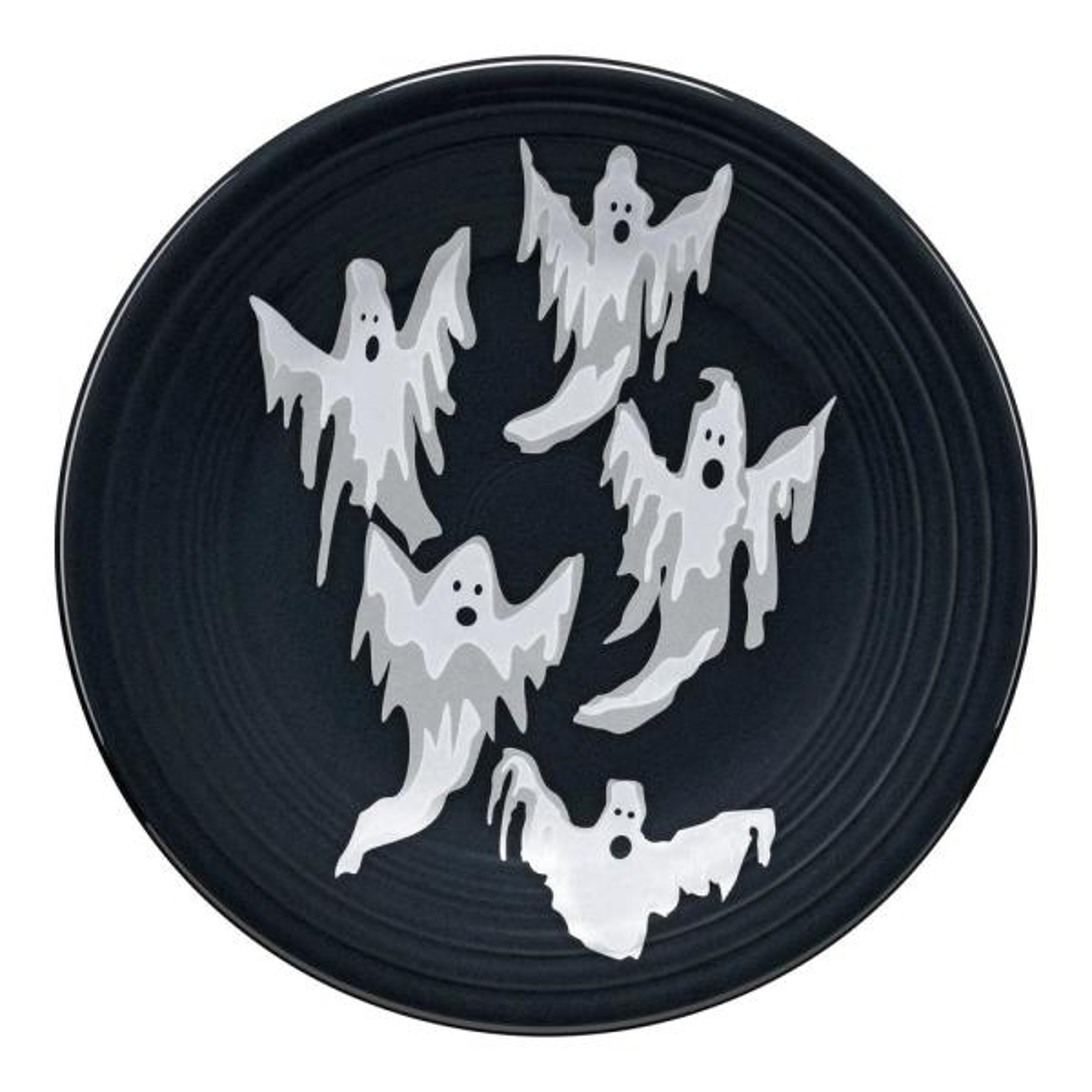 Fiesta Gray Ghosts Luncheon Plate 46541412U