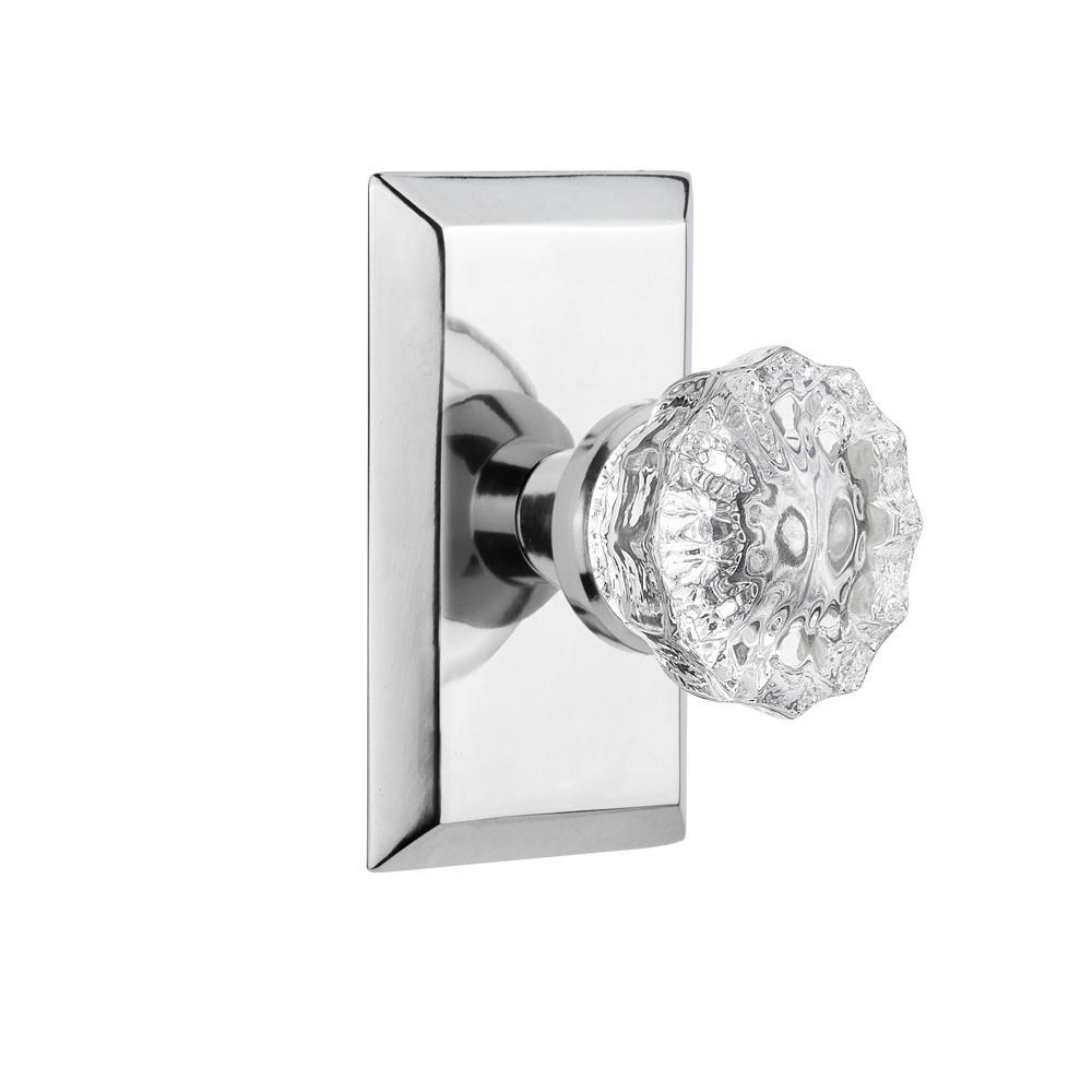 New 1 Set Of 2 Max Studio Clear Glass Dummies Door Knob 5 Set available instock