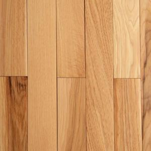 Bruce hickory rustic natural 3 4 in thick x 2 1 4 in for Hardwood flooring 76262