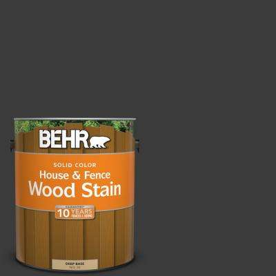 1 gal. #770F-7 Beluga Solid House and Fence Wood Stain