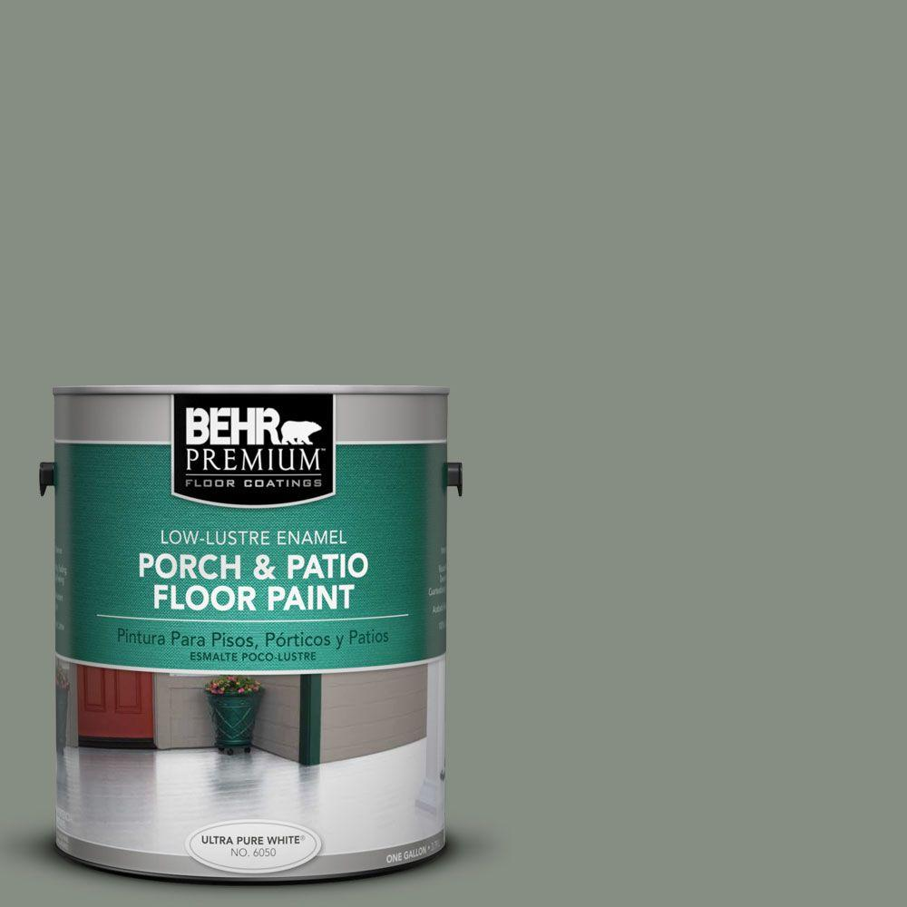 behr premium 1 gal pfc 43 peaceful glade low lustre porch and