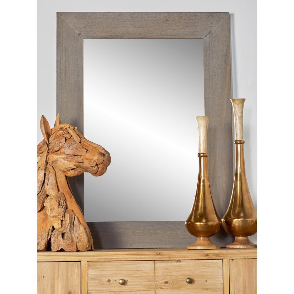 Rectangular Beige Door/Wall Mirror