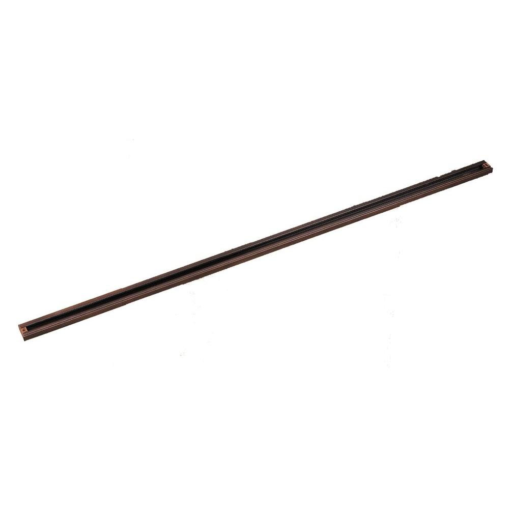 8 ft. Oil-Rubbed Bronze Linear Track Section