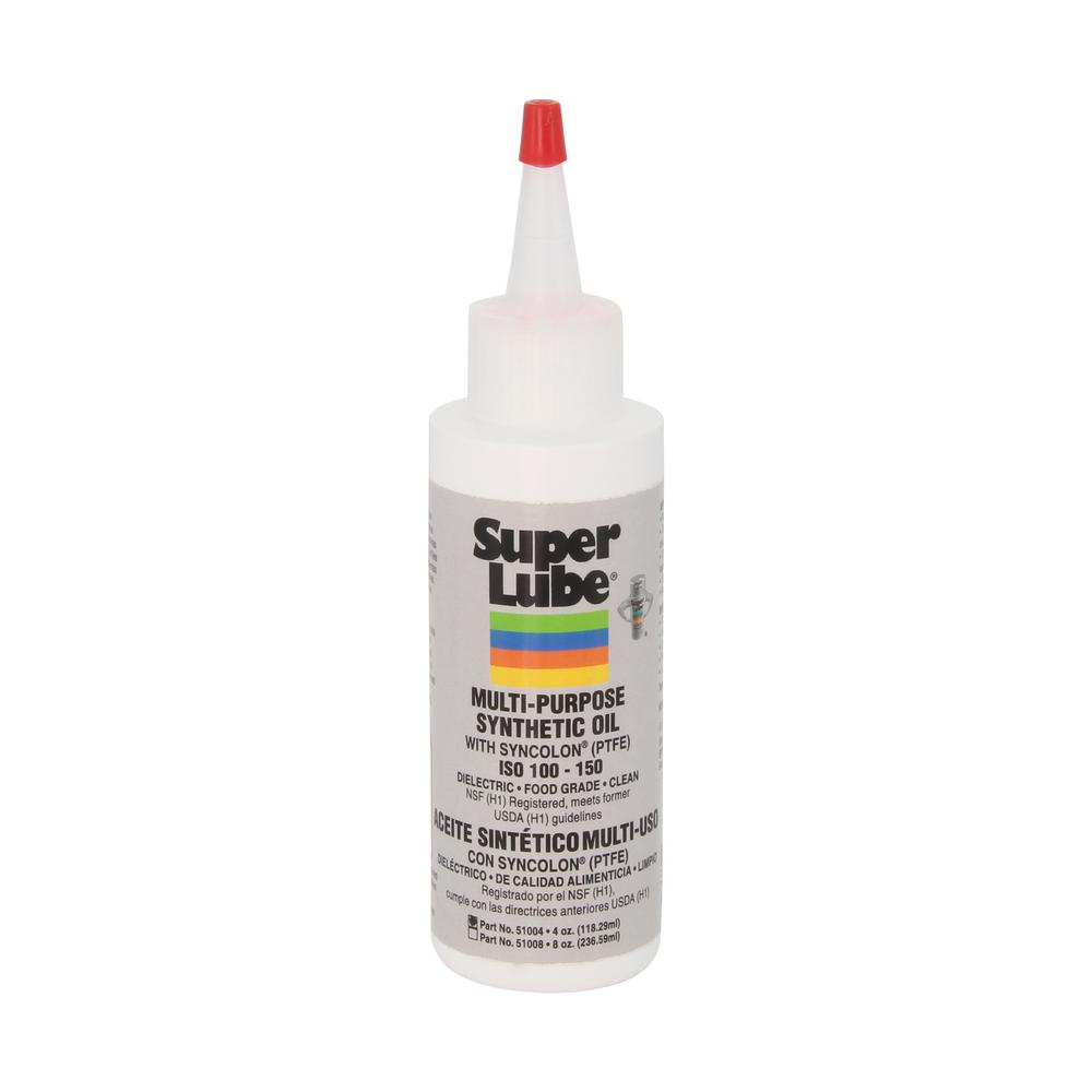 Super Lube 4 oz. Bottle Oil with Syncolon (PTFE) Lubricant