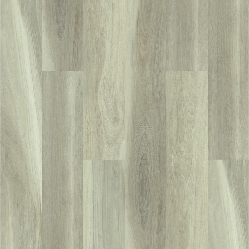 Manor Oak Direct Glue 9 in. x 59 in. Quail Resilient