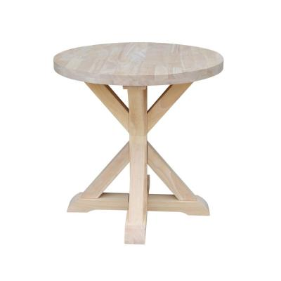 Unfinished End Tables Accent