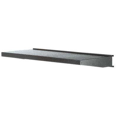 Premier Series 30 in. W x 12 in. D Steel Garage Shelf in Hammered Granite