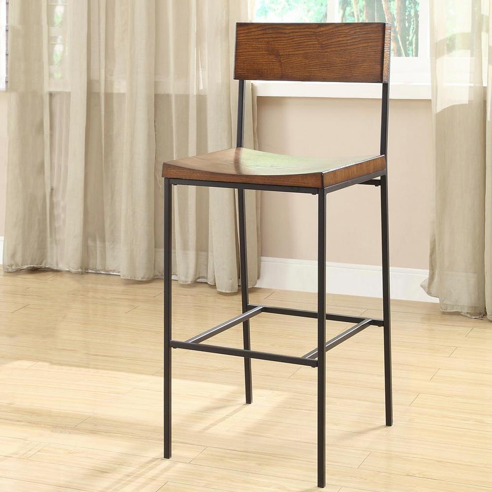 carolina stool black bar adjustable metal stools height cottage logan p