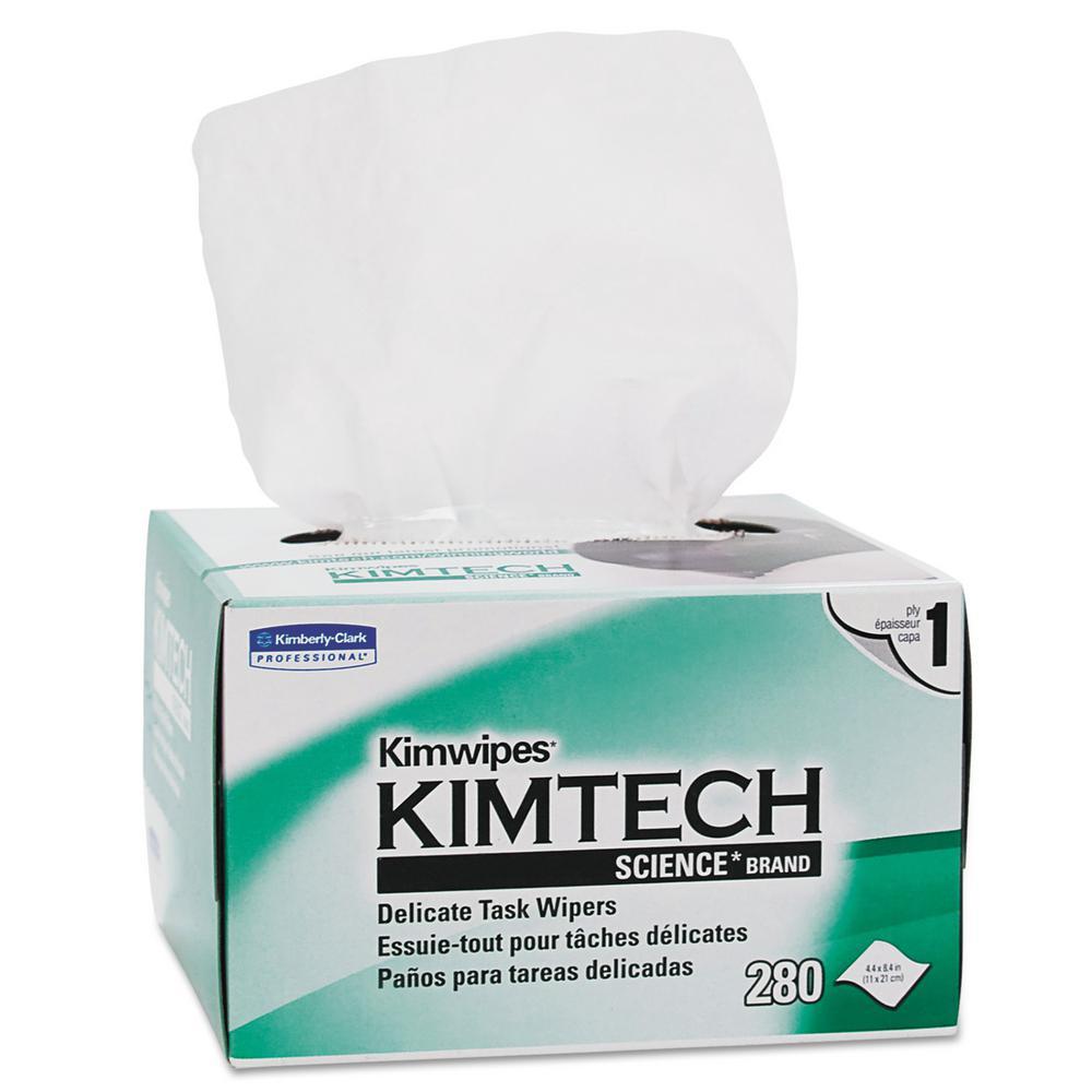 Kimtech Science Kimwipes Delicate Task Wipes (280/Box)