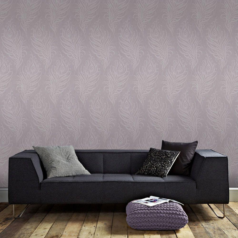 Mulberry Quill Wallpaper