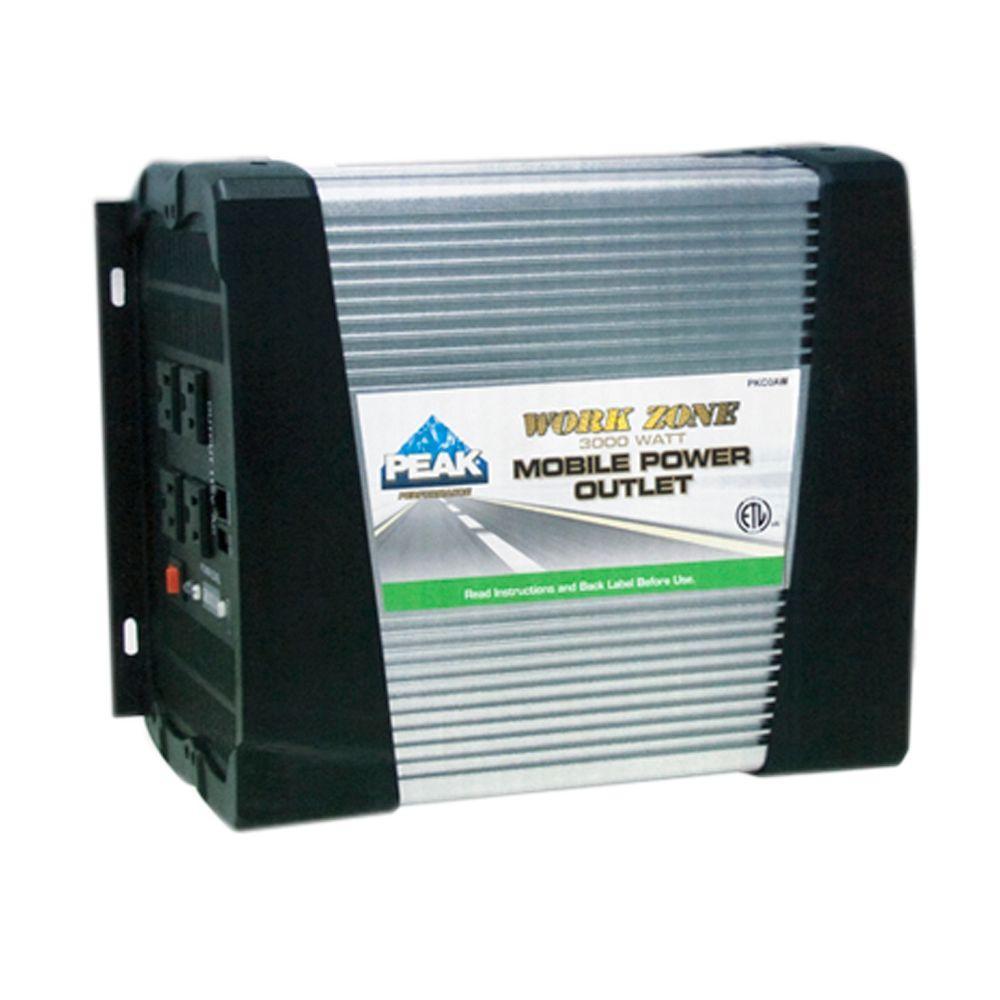 3000-Watt Mobile Power Outlet